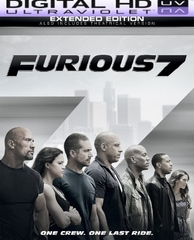 Furious 7 Extended Edition HD Digital Ultraviolet UV Code