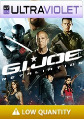 G.I. Joe Retaliation SD UltraViolet UV Code