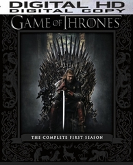 Game of Thrones Season 1 HD Digital Copy Code ( iTUNES)