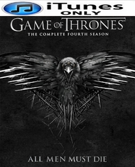 Game of Thrones Season 4 HD Digital Copy Code (iTUNES)