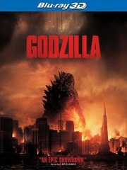 Godzilla 3D Blu-ray Single Disc