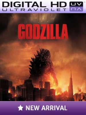 Godzilla Digital HD Digital Ultraviolet UV Code