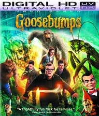 Goosebumps HD Digital Ultraviolet UV Code
