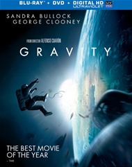 Gravity (Blu-ray + DVD + UltraViolet)