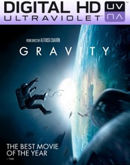 Gravity HD Digital Ultraviolet UV Code