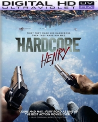 Hardcore Henry HD Digital Ultraviolet UV Code