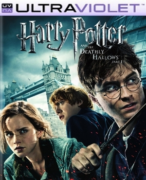 Harry Potter and the Deathly Hallows Part 1 SD Digital Ultraviolet UV Code