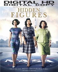 Hidden Figures HD Ultraviolet or iTUNES Code