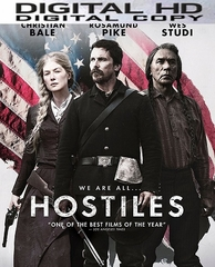 Hostiles HD UV or iTunes Code