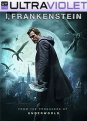 I, Frankenstein SD Digital UltraViolet UV Code