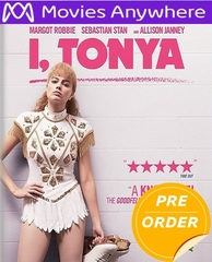 I, Tonya HD UV or iTunes Code  (PRE-ORDER WILL EMAIL ON OR BEFORE 3-13-18 AT NIGHT)