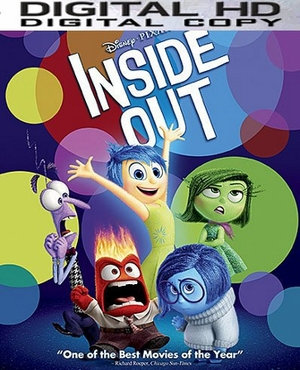 Inside Out HD Ultraviolet Digital Copy Code (VUDU)