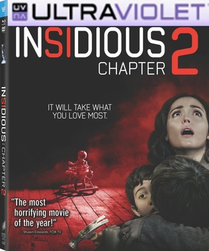 Insidious Chapter 2  SD UltraViolet UV Code