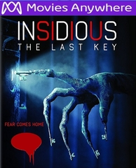 Insidious: The Last Key SD UV or iTunes Code