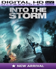 Into The Storm HD Digital Ultraviolet UV Code