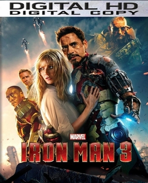 Iron Man 3 HD Digital Copy Code (VUDU)