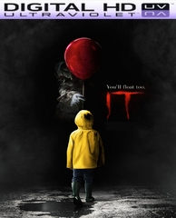 It (2017) HD Ultraviolet UV or iTunes Code VIA Movies Anywhere      (PRE-ORDER EMAIL ON OR BEFORE 1-9-17 AT NIGHT)