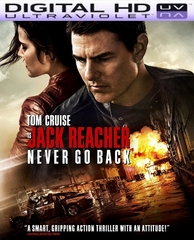 Jack Reacher: Never Go Back HD Ultraviolet UV Code ( FLASH SALE WILL END WITHOUT NOTICE)