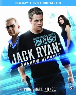 Jack Ryan Shadow Recruit Blu-ray (ONLY USED)