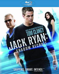 Jack Ryan Shadow Recruit Blu-ray (USED)