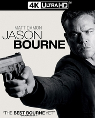 Jason Bourne 4K UHD Ultraviolet UV Code