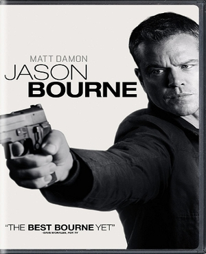 Jason Bourne DVD  (USED)