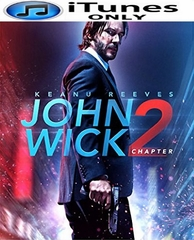 John Wick Chapter 2 HD iTunes Code
