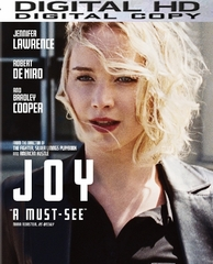 Joy HD Digital Ultraviolet UV Code ( VUDU - Flixster - Google Play or iTUNES ) LIMITED SUPPLIES