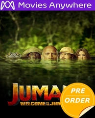 Jumanji: Welcome To The Jungle HD UV or iTunes Code via MA     (PRE-ORDER WILL EMAIL ON OR BEFORE 3-20-18 AT NIGHT)