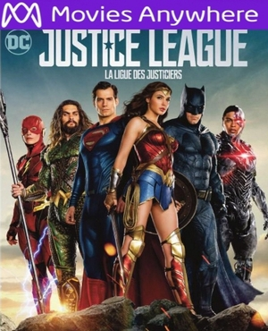 Justice League HD UV or iTunes Code via MA