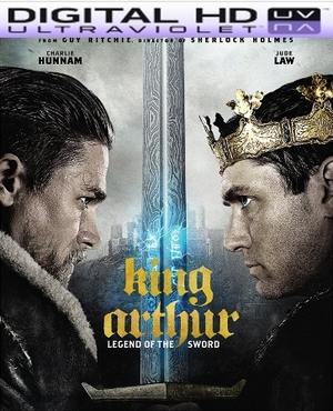 King Arthur: Legend of the Sword HD Ultraviolet UV Code