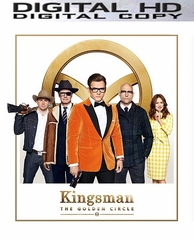 Kingsman: The Golden Circle HD UV or iTunes Code