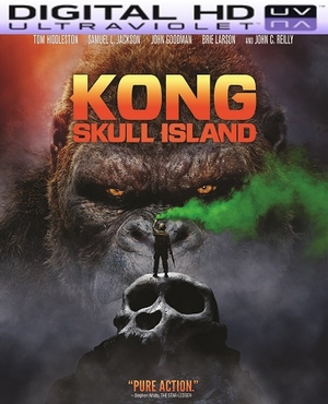 Kong: Skull Island HD Ultraviolet UV Code (PRE-ORDER WILL EMAIL ON OR BEFORE 7-18-17 AT NIGHT)