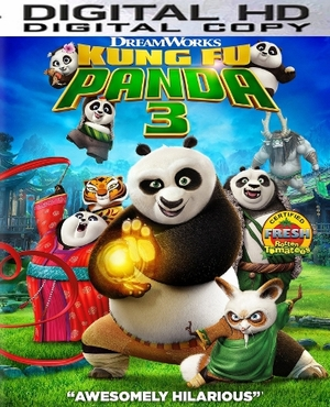 Kung Fu Panda 3 HD Vudu / Google Play / Flixster / or iTUNES Code