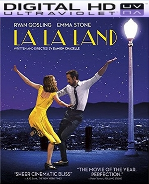 La La Land HD Digital Ultraviolet UV Code