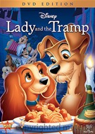 Lady And The Tramp DVD Movie (USED)