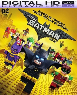 The Lego Batman Movie HD Digital Ultraviolet UV Code