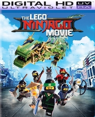 Lego Ninjago Movie HD Ultraviolet UV or iTunes Code VIA Movies Anywhere      (PRE-ORDER WILL EMAIL ON OR BEFORE 12-19-17 AT NIGHT)
