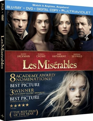 Les Miserables Blu-ray + DVD + Ultraviolet