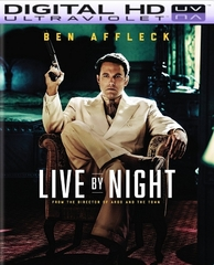 Live By Night HD Digital Ultraviolet UV Code