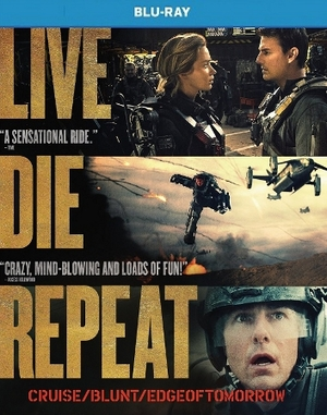 Live Die Repeat Edge Of Tomorrow Blu-ray Single Disc