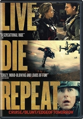 Live Die Repeat:  Edge Of Tomorrow DVD (USED)