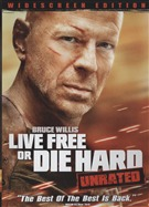 Live Free Or Die Hard Unrated DVD (USED)