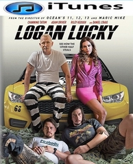 Logan Lucky HD iTunes Code
