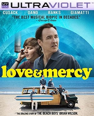 Love & Mercy SD Digital Ultraviolet UV Code