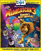 Madagascar 3  Europes Most Wanted Blu-ray 3D +  Blu-ray + Digital Copy