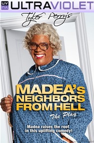 Madea's Neighbors From Hell SD UltraViolet UV Code