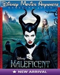 Maleficent DMA Disney Movies Anywhere Code (Will Port To Linked Services)