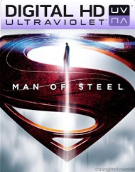 Man of Steel Digital HD Ultraviolet UV Code