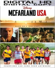 McFarland USA HD Digital Copy Code (VUDU)